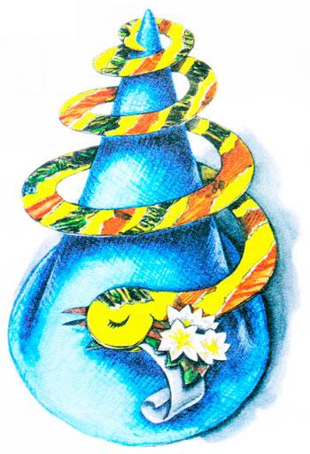 змея, схемы для вышивки год