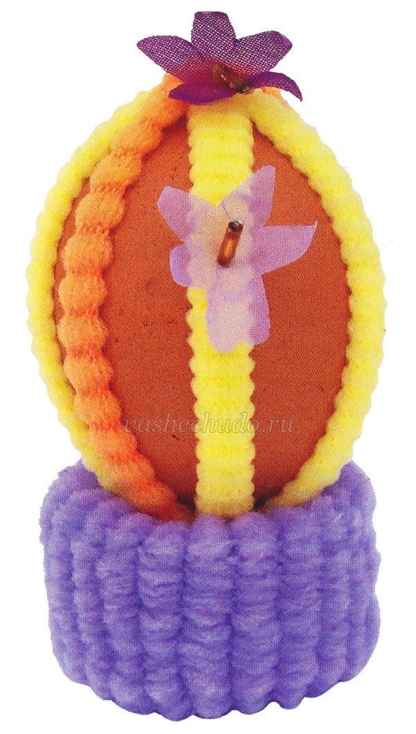 Пасхальные яйца бисера своими руками фото 952
