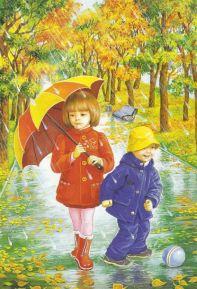 Стихи про осень для детей 3 4 года