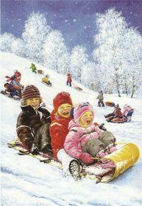 Стихи про зиму для дошкольников стихи