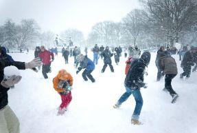 улице для детей игры на фото зимние