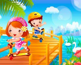 Лето для детей дошкольного возраста