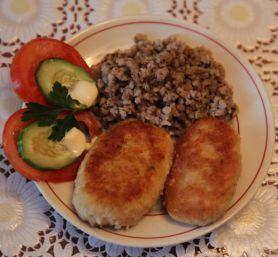 куриные котлеты с гречкой рецепт