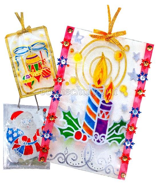 Новогодние поделки своими руками картинки и инструкция